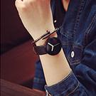 watch-123 一路向東-極簡風北歐黑白色調情侶手錶