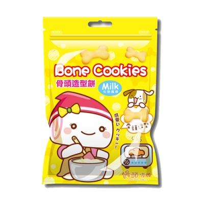 饅頭家族牛奶風味造型餅-骨頭(90g)