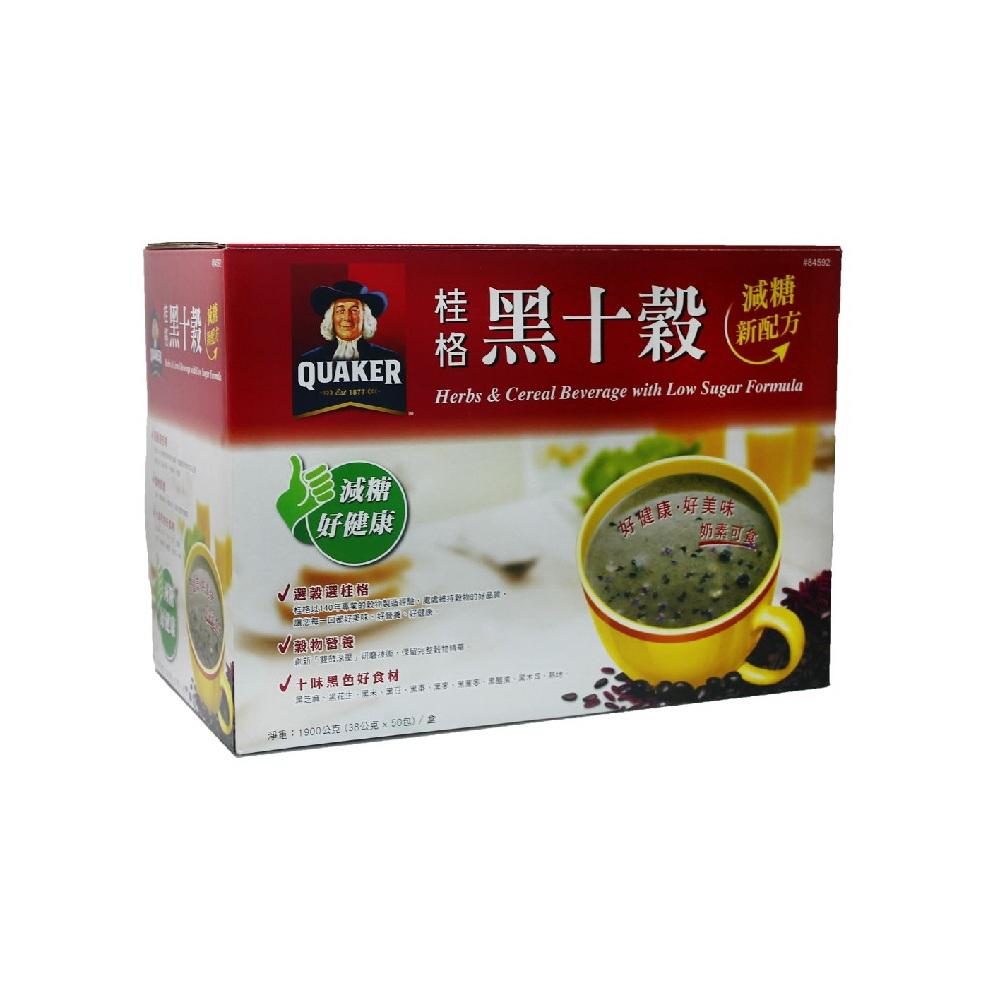 桂格 黑十穀減糖新配方(38gx50包)