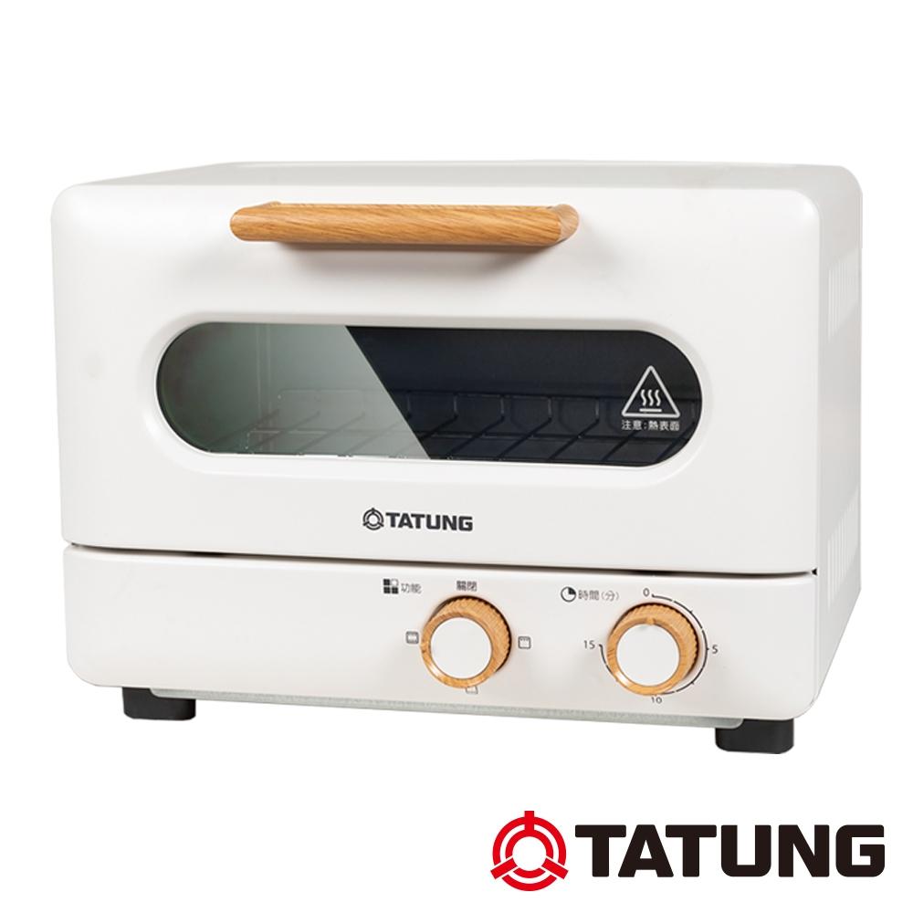 TATUNG大同 9L雪白木紋經典烤箱(TOT-908WA)