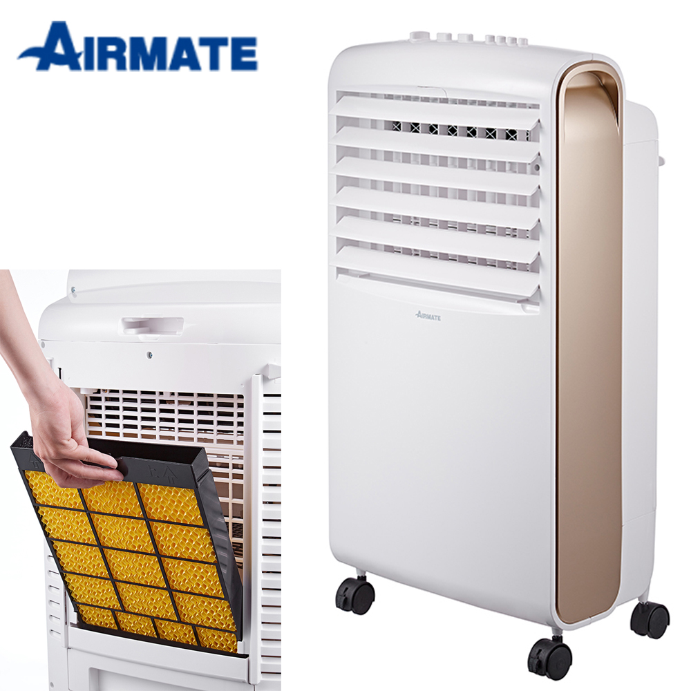 AIRMATE 艾美特 8L按鍵式水冷扇 CF621T-玫瑰金