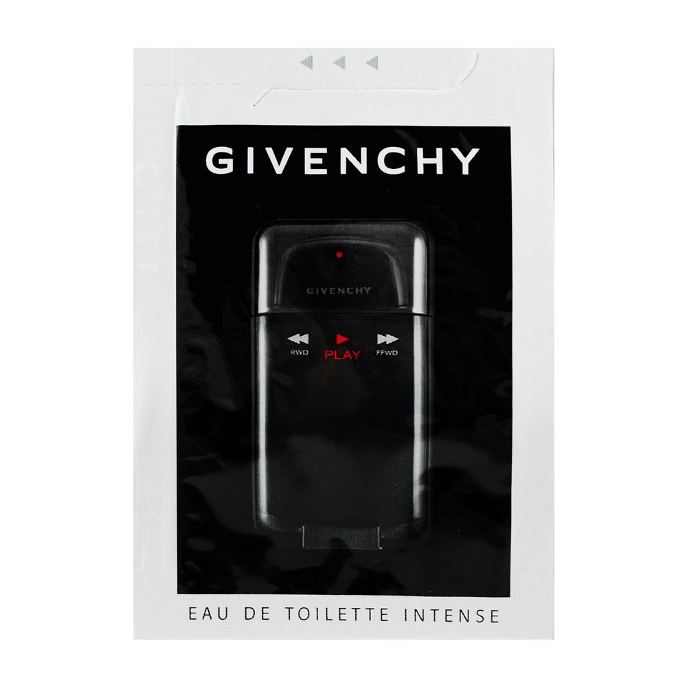 Givenchy 紀梵希 玩酷激情男性淡香水 片裝小香 0.8ml