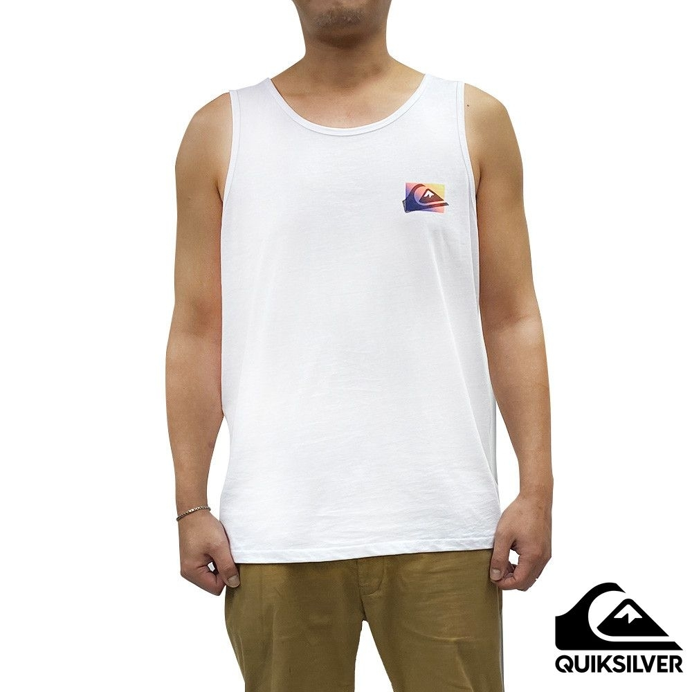 【QUIKSILVER】NEON COLOURS TANK 背心 白色 product image 1