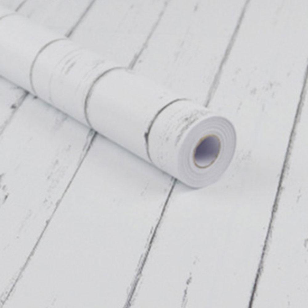 北歐風仿木紋自黏式壁紙/壁貼/牆面貼紙