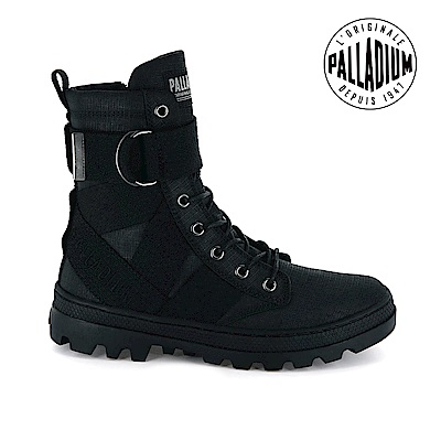 Palladium PALLABOSSE TACT ST L皮革靴-女-黑