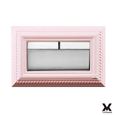 VaMarssa四方匯財 小開關板 (卡準式-粉) 冷漿陶瓷 插座 開關蓋 蓋板 面板