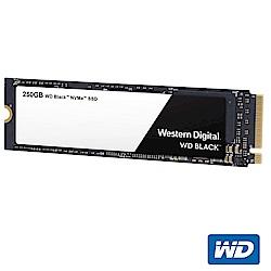 WD SSD 250GB NVMe PCIe Gen3 固