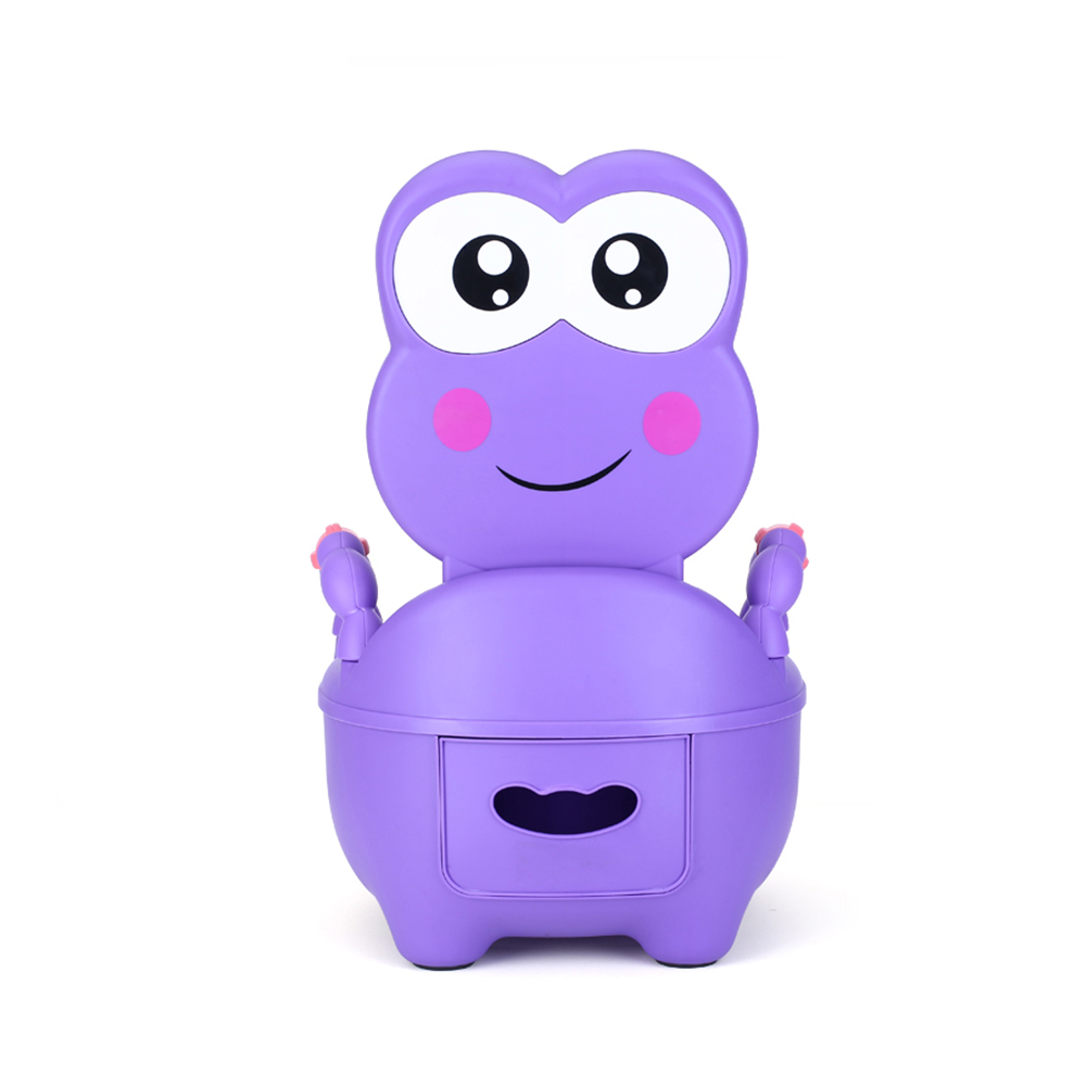 甲克虫 兒童青蛙座便器 @ Y!購物