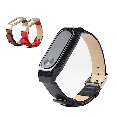 ANTIAN 小米手環3高檔皮錶帶 皮質替換手錶腕帶