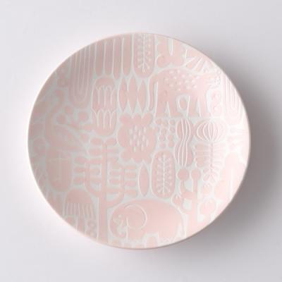 日本Natural69 波佐見燒 Utopia系列 甜點盤  15cm 撫子粉 日本製