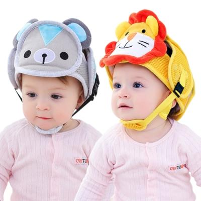 寶寶防摔保護帽 嬰兒學步防撞帽兒童安全頭盔護頭帽