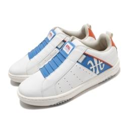 Royal Elastics 休閒鞋 Icon Manhood 2 穿搭 男鞋 基本款 舒適 套腳 簡約 輕便 皮革 白 藍 06501052