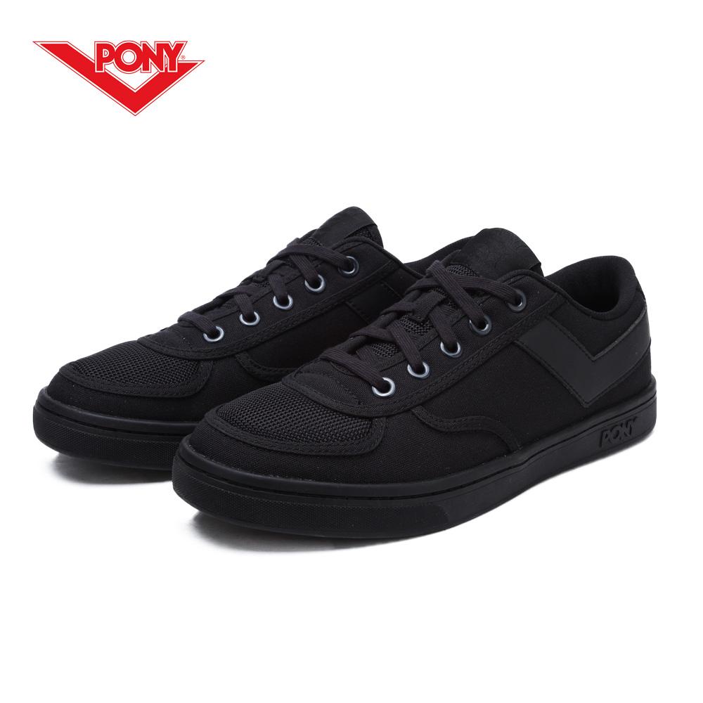【PONY】Slam Dunk 個性風格滑板鞋款-男-黑