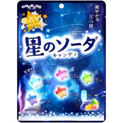 扇雀飴 星星綜合蘇打風味糖(270g)