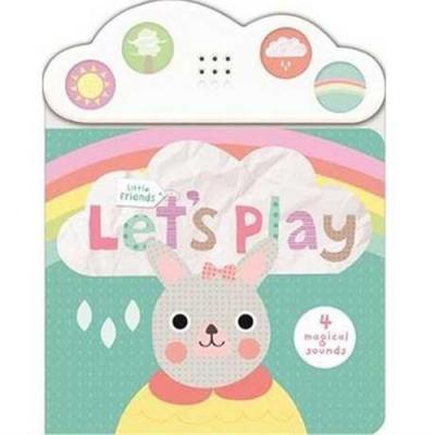 Little Friends:Let s Play 邦尼寶貝愛玩耍硬頁掀翻有聲書(英國版)