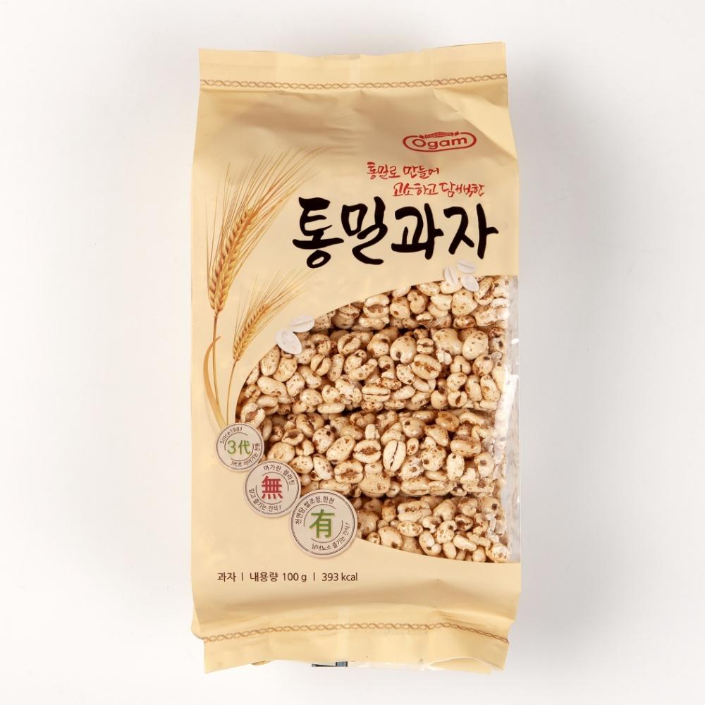 OGAM 韓國蜜糖麥香餅(100g)