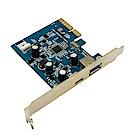 小比科技-超高速擴充卡(USB3.1 PCIEx4 Type A+C Host)