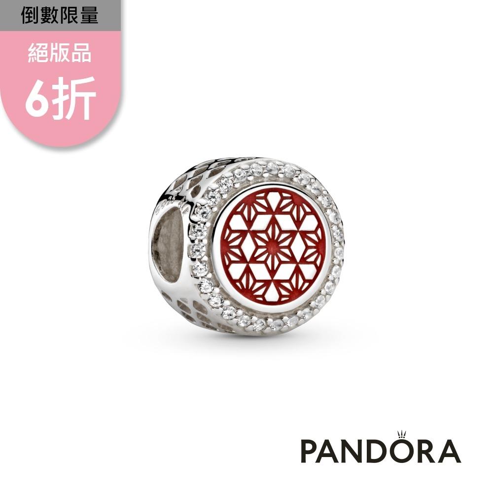 【Pandora官方直營】麻葉串飾