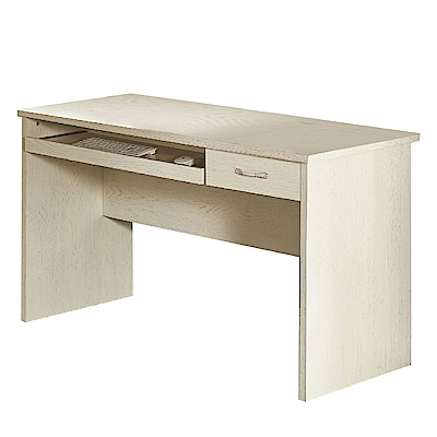 文創集 艾西佛時尚4尺木紋書桌/電腦桌-120x60x75cm免組