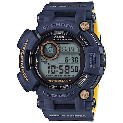 G-SHOCK 海軍蛙人專業潛水錶(GWF-D1000NV-2)-53.3mm