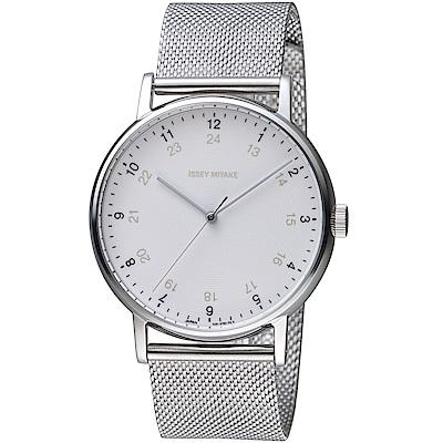 ISSEY MIYAKE三宅一生f系列雙時刻腕錶(NYAJ701Y VJ21-0360S)