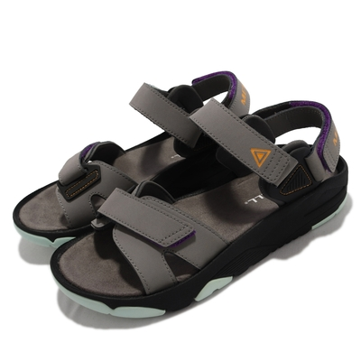Merrell 涼鞋 Belize Convert 真皮鞋面 女鞋 內嵌式避震墊片 穩定 耐磨 抓地效果好 灰 橘 ML000808