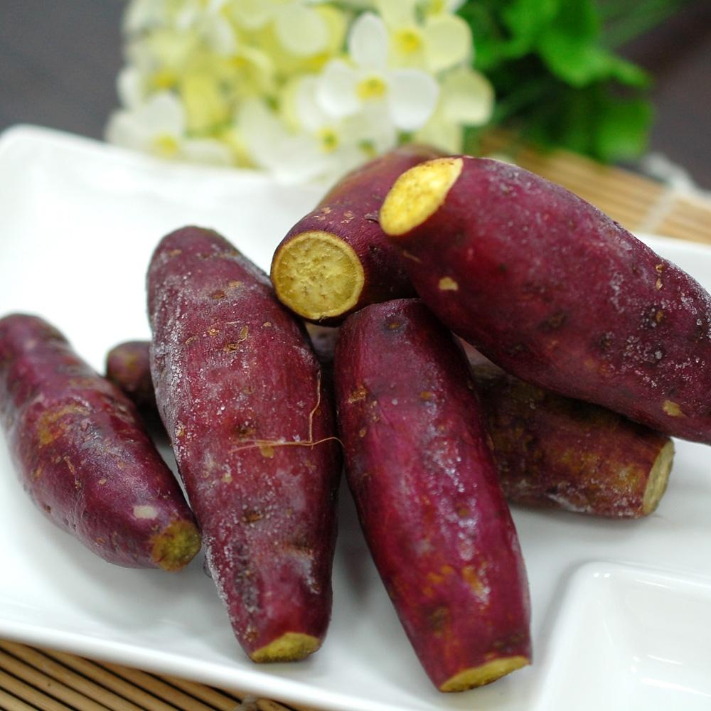 築地一番鮮-養身輕食紫皮栗香黃金地瓜2包(1kg/包)免運組