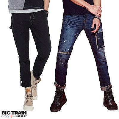 [時時樂限定]BIG TRAIN 經典暢銷男款牛仔褲(7款選)