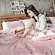 戀家小舖 / 單人床包枕套組  尋找夢奇地-兩色可選  100%精梳棉  台灣製