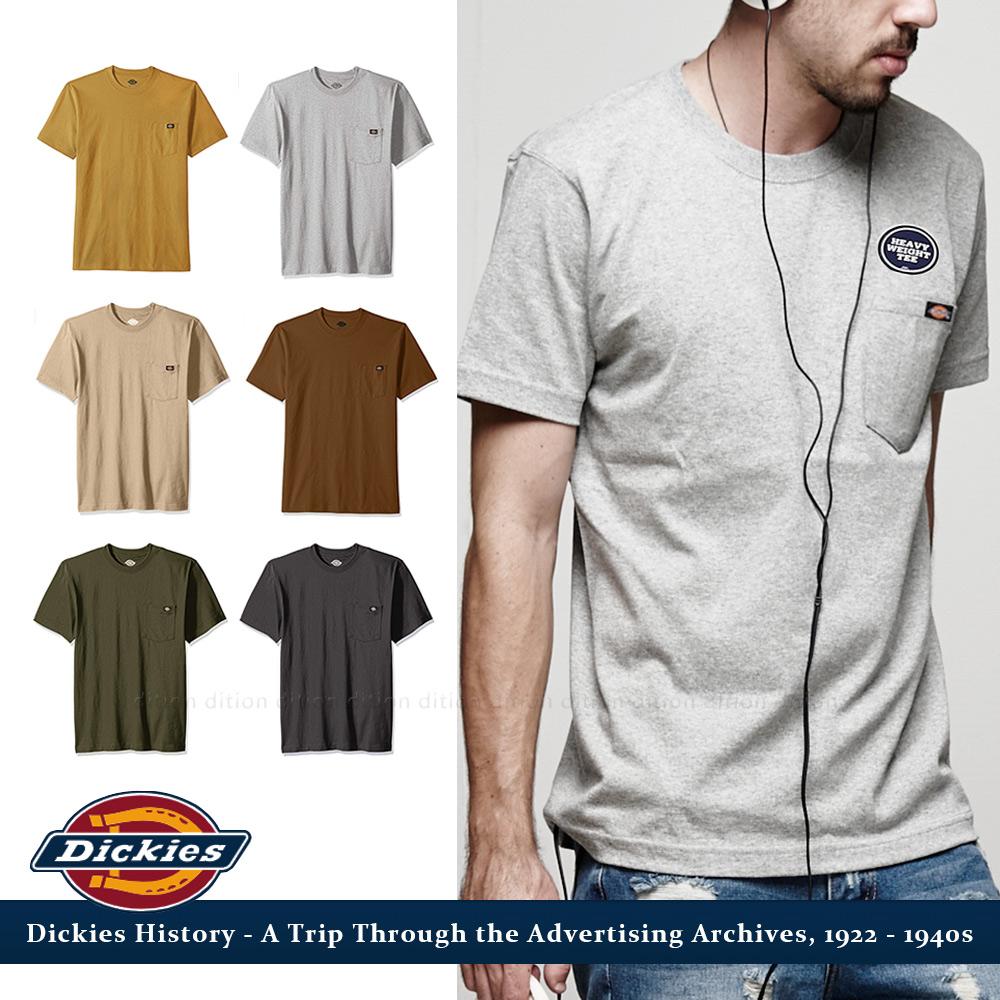 DICKIES 重磅heavy weight口袋短T 美式工裝 全新真品