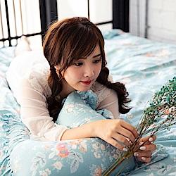 OLIVIA FLORA 標準雙人床包冬夏兩用被套四件組 200織精梳純棉