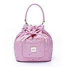VOVAROVA空氣包-口袋水桶包-French Pom Pom- Pink