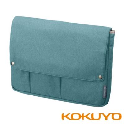 KOKUYO Bizrack up 橫式收納袋中袋(A4) -冰藍