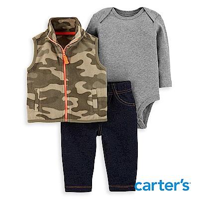 Carter's 個性迷彩3件組背心套裝