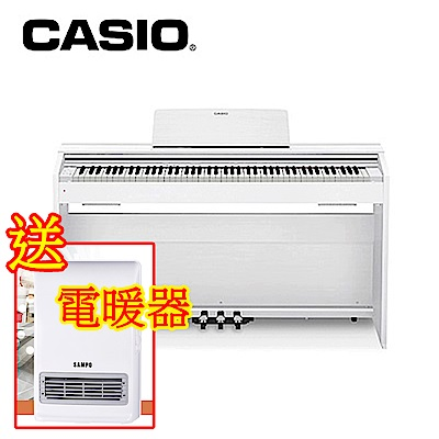 CASIO-PX870-WH-88鍵電鋼琴-典雅白
