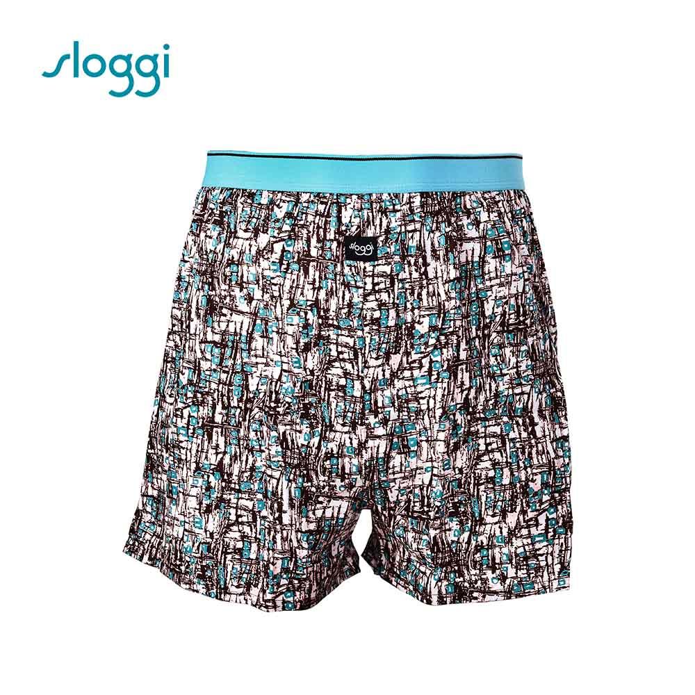 sloggi men 寬鬆系列Mess 男士寬鬆平口褲 沙褐色 RG918713T9