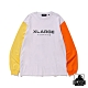 XLARGE L/S TEE TRICOLOR長袖T恤-白 product thumbnail 1