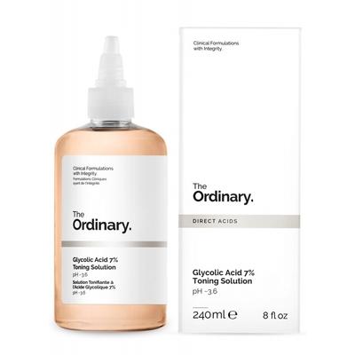 (2入組)The Ordinary 甘醇酸去角質化妝水240mlx2