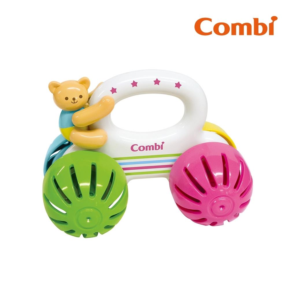 【Combi】小熊車車手搖鈴