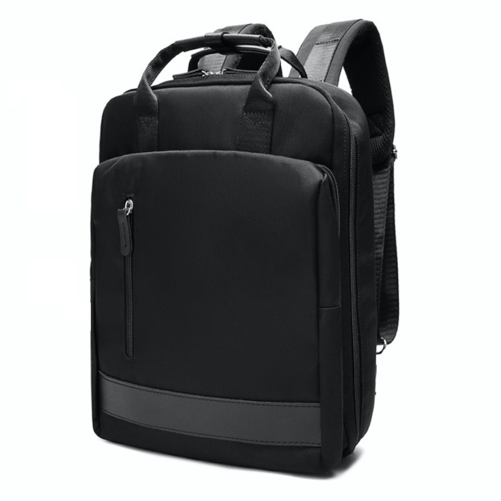 Ela 多功能輕量款可接USB電源防潑水電腦包-2色