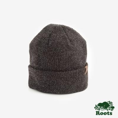 Roots配件- 漢彌爾頓針織帽-棕色