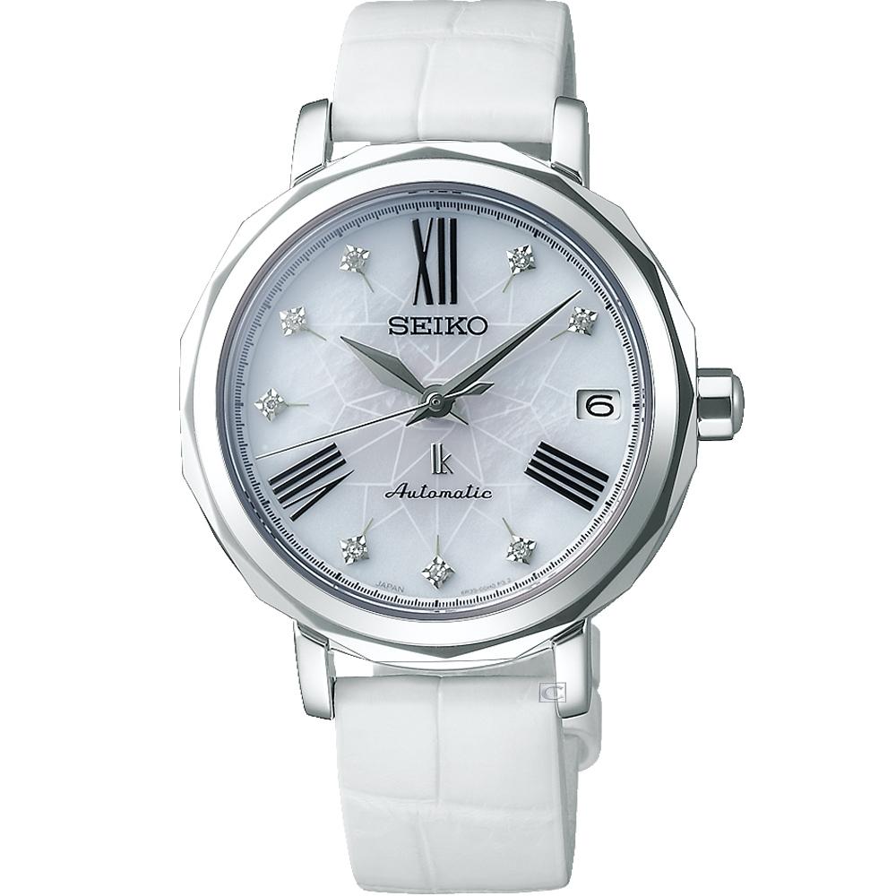 SEIKO LUKIA 精工 銀座25周年紀念機械女錶-6R35-00N0W(SPB133J1)