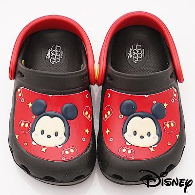 迪士尼童鞋 米奇護趾花園鞋款 FO17012黑(中小童段)C