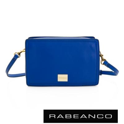 RABEANCO 心系列幸福方塊包 閃電藍
