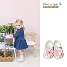 Kinderspel 郊遊趣休閒學步鞋-粉嫩蛋苞花(14cm)