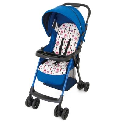 奇哥 Joie aire 輕便嬰兒推車附餐盤-英倫藍