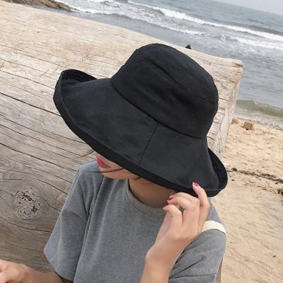 Redberry 棉麻質感漁夫布帽 遮陽防曬帽 棉麻材質 女士夏季配件 6色系