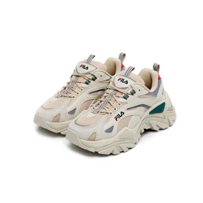 FILA INTERATION LIGHT 中性運動鞋-綠 4-C607U-142