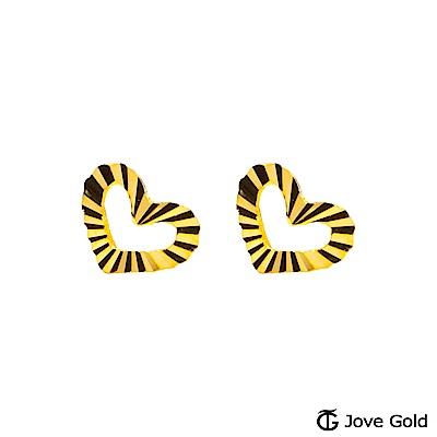 Jove gold 愛相約黃金耳環