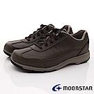 日本Moonstar戶外健走鞋-4E寬楦防水防滑款-1879咖啡(男段)
